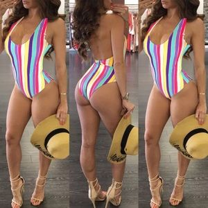 Other - Striped one piece